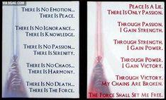 Sith and Jedi Codes