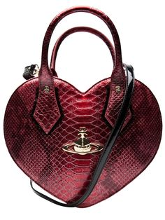 crimson heart bag