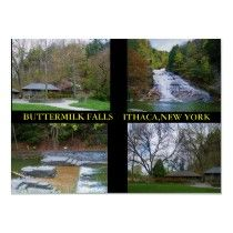 TRIBUTE TO BUTTERMILK FALLS poster by JoAnnHayden