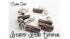 Chain Gun Beaded Bead Tutorial