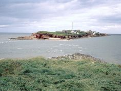 Hilbre Island, England...at low tide you can actually walk to this island!