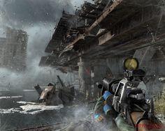 A make shift shotgun and a hostile post apocalyptic waste land. Let the games begin.