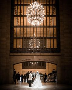 A delightful #GrandCentral Terminal #wedding capture by @ryan_budhu with his #X100S. What lighting and grandeur! by fujifilmx_us