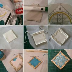 9-step tutorial for Triss Merigold necklace (clay)