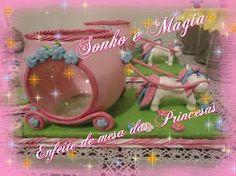 lembrancinha das princesas  carruagem muito linda
