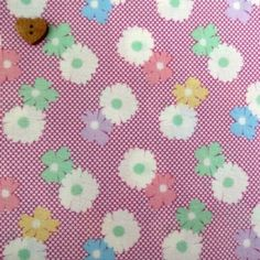 Exclusively Quilters ~ 1930's Classics ~ Large Flowers & Spots on Lilac