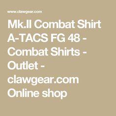 Mk.II Combat Shirt A-TACS FG 48 - Combat Shirts - Outlet - clawgear.com Online shop
