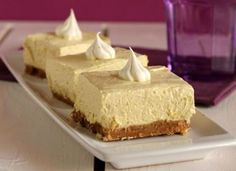 Cheesecake μπανάνα Banana Cheesecake, Cheesecake Recipes, Dessert Recipes, Cheesecake Brownies, Yummy Treats, Delicious Desserts, Food Network Recipes, Cooking Recipes, The Kitchen Food Network