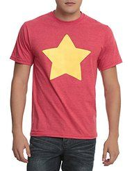 5f8f6d91b5fb Heather red Steven Universe star shirt - just like the one Steven wears!