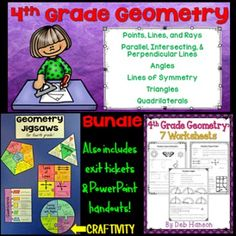 Rock cycle diagram fill in the blank bing images teaching ideas 4th grade geometry this bundle of geometry resources focuses on the standards related to fourth ccuart Images