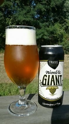 Troegs Independent Brewing - Nimble Giant Double IPA - 9%ABV - A clean, crisp, well balanced, and delicious double India Pale Ale