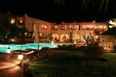 Hotel Kasbah Dar Ilham Marrakech Hotels, Hotel Reviews, Air Balloon, Fresco, Trip Advisor, Bucket, Patio, Mansions, House Styles