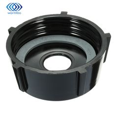Plastic Black Bottom Jar Base Cap + Gasket Seal Ring Replacement Part Tool For Oster Blender Blender Parts Durable Quality