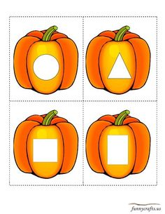 Matching the geometric shapes Geometric shapes matching cards In kindergarten math printable worksheets we will learn and match the basic Learning Numbers Preschool, Fall Preschool Activities, Toddler Learning Activities, Preschool Crafts, Learning Skills, Circle Time Activities, Arabic Alphabet For Kids, Shapes For Kids, Theme Halloween
