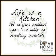 Kitchen Week – Love Home Challenge