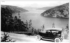 View from the Malahat in 1920 - notice how completely different it looked, Not! #yyj