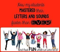 Help Students Master Letters and Sounds Faster than EVER--with a Freebie!