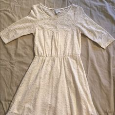 Cotton On Fit & Flare Dress Cream Fit & Flare Sweetheart Dress • Only Worn Twice • Very Cute & Comfy • Dress: 97% Nylon, 3% Elastane • Lining: 100% Polyester Cotton On Dresses Mini