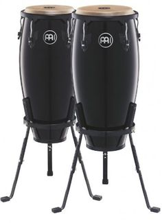 Meinl Headliner Black 10 & 11 wood Conga Set (2 units) by Meinl Percussion. $349.99. Amazon.com                The 10-inch & 11-inch pair of Headliner wood congas is the perfect set to get you started. The compact size is easy for young players to handle, light to carry and has a full, rich sound. You can develop a full foundation of conga techniques and rhythms with these student-friendly drums.                             HC555 Wood Conga Features    28 inches tall  ...