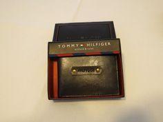 Tommy Hilfiger Men's billfold wallet Valet brown 31HP130007 leather TH NEW case…