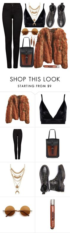 """""""The Grizzly, maybe Polar"""" by karllydolly ❤ liked on Polyvore featuring ASOS, Boohoo, J Brand, Bertoni, Charlotte Russe, Retrò, Lipstick Queen and BillyTheTree"""
