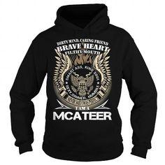 I Love MCATEER Last Name, Surname TShirt v1 T shirts
