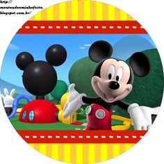 Riding my party: The home of Mickey Mouse