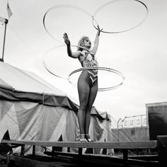 sisterwolf:  Slavi the Hoop Girl, Courtney Bros Circus, Wexford - Andrew Shaylor