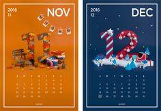 2016 Paper art calender project Making film on Behance