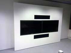 Video conference equipment wall