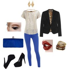 Night Out, created by #stacyhamrick on #polyvore. #fashion #style     I know exactly what I'm wearing this to. ;)