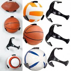 Basketball Bcw Deluxe Acrylic Ball Stand Volleyball Or Soccer Terrific Value Hold Football