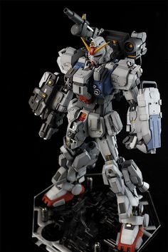 [GBWC 2015] ale's MG 1/100 Gundam Ground Type Base Attack Wear CUSTOM: Big Size Images, Info | GUNJAP