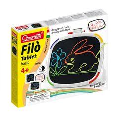 Filó Tablet, rajzolós kreatív fejlesztőjáték 4 éves kortól - Quercetti