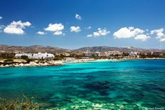 Cyprus Pafos Coral Bay Beach