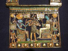 Egyptian pendant from the tomb of King Tutankhamun