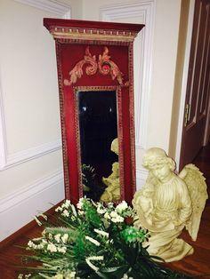 Italian Emperors Silk Mirror - $38. Eclectic Mirrors, Gift Store, Annie Sloan, Daisy, Silk, Interior Design, Gifts, Inspiration, Home Decor