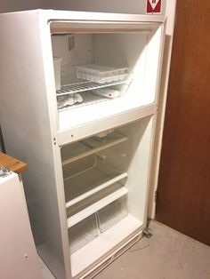Her client was sick of his outdated fridge, but her easy fix was so clever
