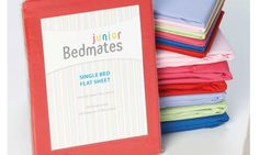 Sariah's room - Bright sheet sets to match the bright Elephant duvet set  $24.90 from www.harveynorman.co.nz