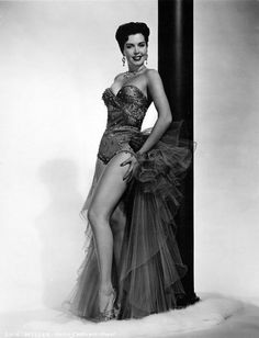 Ann Miller  This lady was my role model.  Loved her