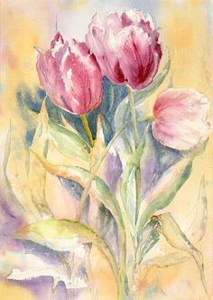 April Tulips Jana Laxa