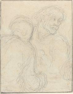 Two Men | Honoré Daumier, Two Men