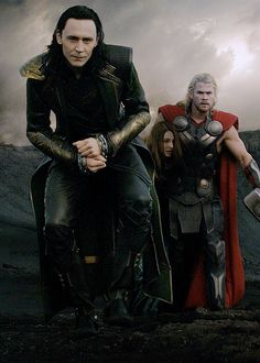 My brother Loki and Me
