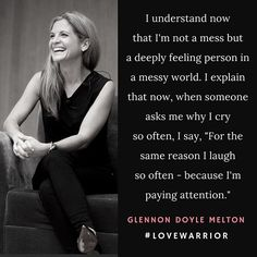 Because I'm paying attention. #LoveWarrior