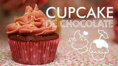 Cupcake de Chocolate com Buttercream #TorradaTorrada