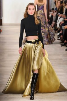 Pin for Later: The 10 Most Wearable Trends From New York Fashion Week Ralph Lauren London Fashion Weeks, New York Fashion, Fashion News, Runway Fashion, Fashion Show, Fashion Design, Fashion Trends, High Fashion, Ralph Lauren Style