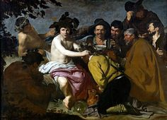 """Velázquez: """"Los borrachos"""""""