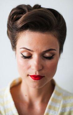Rockabilly Frisuren Kurze Haare Frauen Ideen Fur Essen Hair