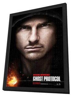 Mission: Impossible - Ghost Protocol 27x40 Framed Movie Poster (2011)