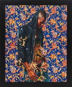 Painting - Morthyn Brito IV, 2012   Kehinde Wiley Studio